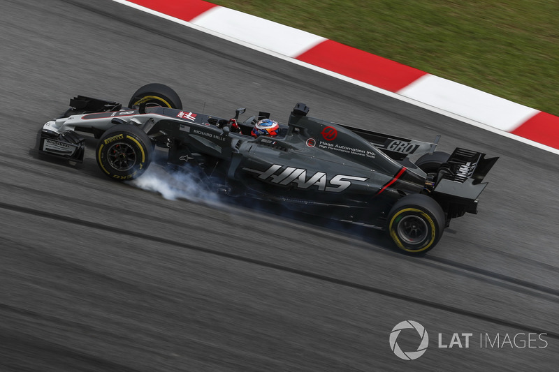 17. Romain Grosjean, Haas F1 Team VF-17
