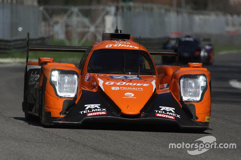 #22 G-Drive Racing, Oreca 07 - Gibson: Memo Rojas, Ryo Hirakawa, Leo Roussel, #2 United Autosports, Ligier JS P3 - Nissan: John Falb, Sean Rayhall