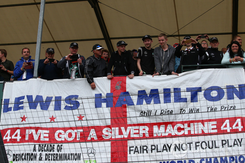 Aficionados en Silverstone