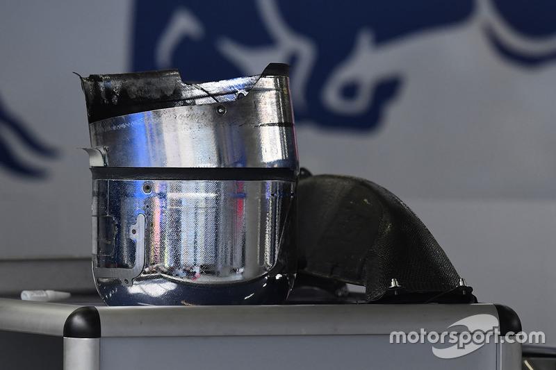 Scuderia Toro Rosso STR12, Bremse, Detail