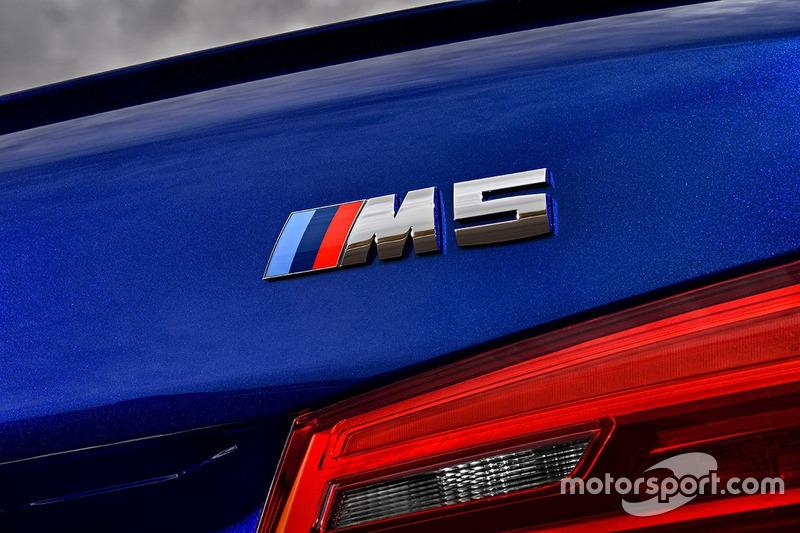 Фрагмент нового BMW M5