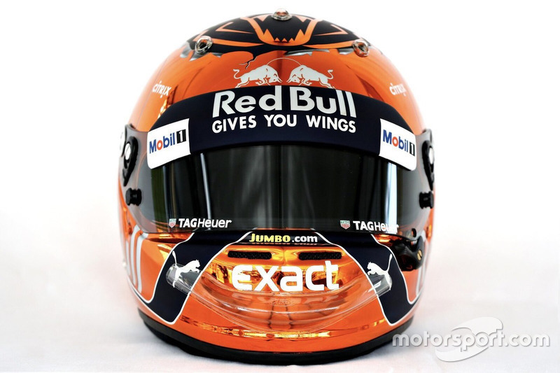 Helm Max Verstappen, Red Bull Racing
