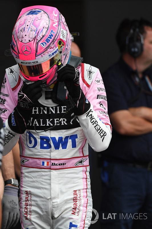 Esteban Ocon, Sahara Force India F1