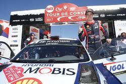 Ganador Thierry Neuville, Hyundai i20 Coupe WRC, Hyundai Motorsport
