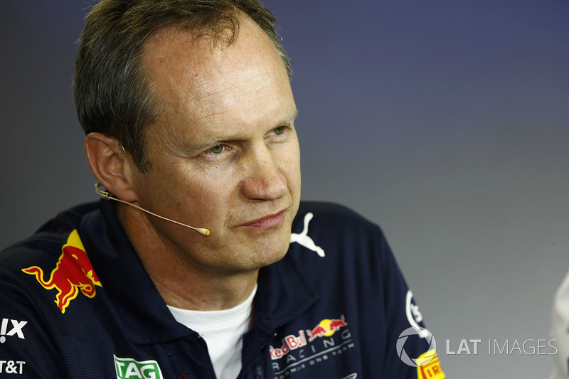 Paul Monaghan, jefe de ingenieros Red Bull Racing