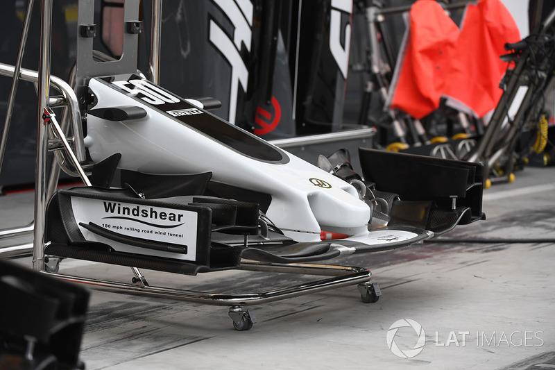 Morro y alerón delantero Haas VF-17