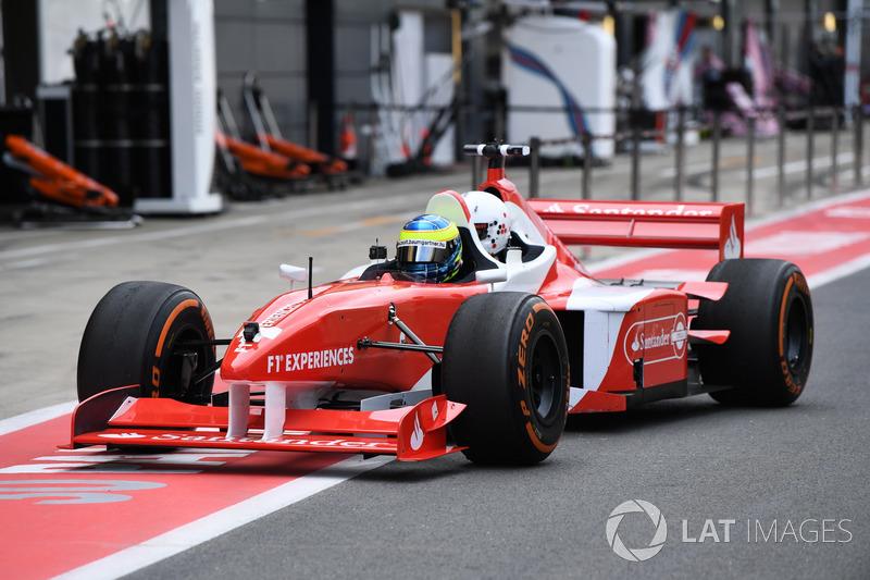 David Saelens, F1-Doppelsitzer