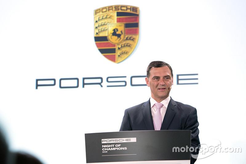 Oliver Blume, Presidente del Consejo Ejecutivo, Porsche AG