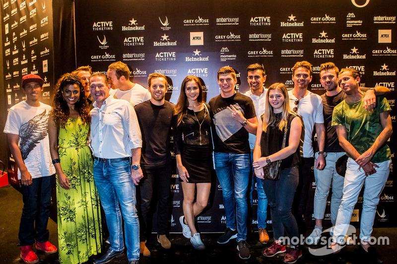 Max Verstappen, Red Bull Racing con Jos Verstappen, familia y amigos