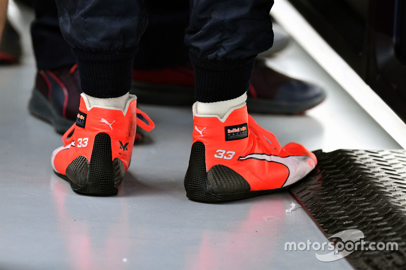 Boots of Max Verstappen, Red Bull Racing