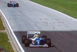 Ayrton Senna, Williams FW16; Roland Ratzenberger, Simtek S941