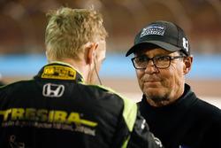 Charlie Kimball, Chip Ganassi Racing Honda with crew chief Ricky Davis