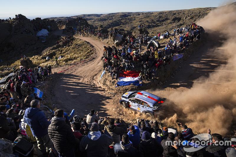 #7: Dani Sordo, Marc Marti, Hyundai i20 WRC