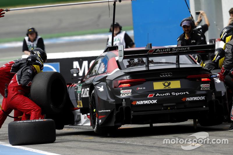 Pit stop, Nico Müller, Audi Sport Team Abt Sportsline, Audi RS 5 DTM