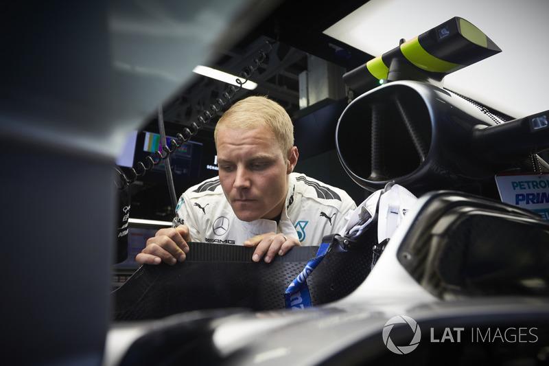 Гран Прі Азербайджану. Валттері Боттас, Mercedes AMG F1