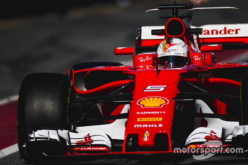2º Sebastian Vettel, Ferrari SF70H, 1:19.952, superblandos (267 vueltas)