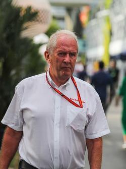 Dr Helmut Marko, consultant Red Bull Motorsport