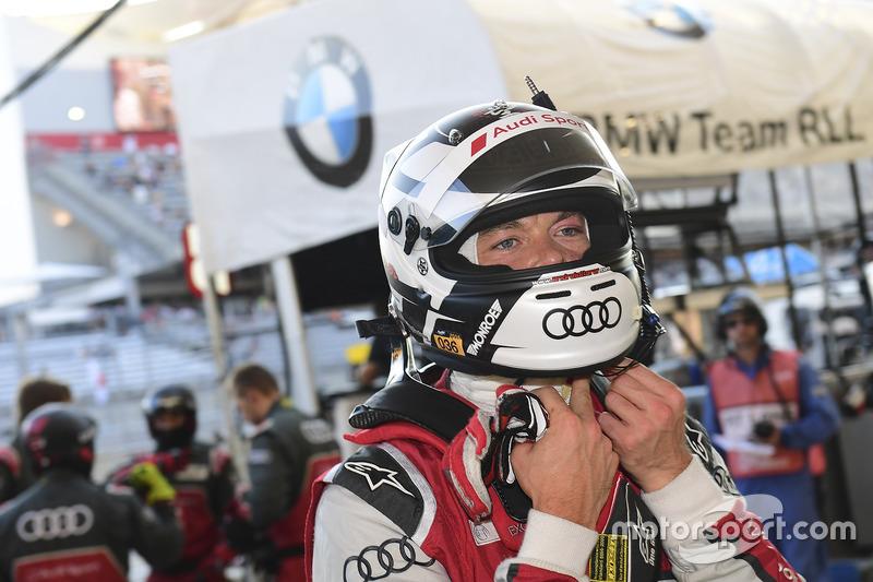 Polesitter Andre Lotterer, Audi Sport Team Joest