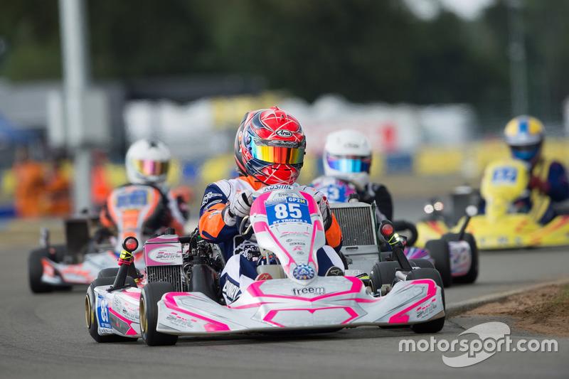 #85 St. Tropez 3 Sonic Racing: Aymeric Jungo, Willy Huet, Didier Launay, Mathieu Serradori