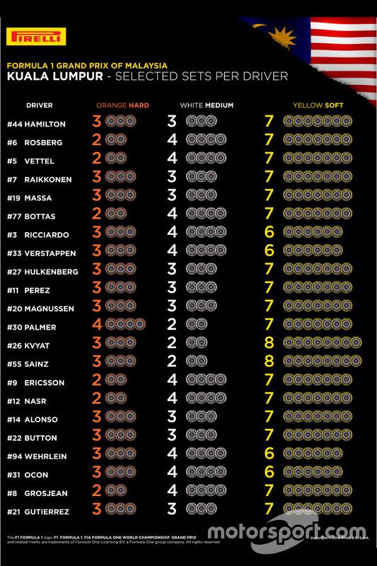 Выбор шин на Гран При Малайзии