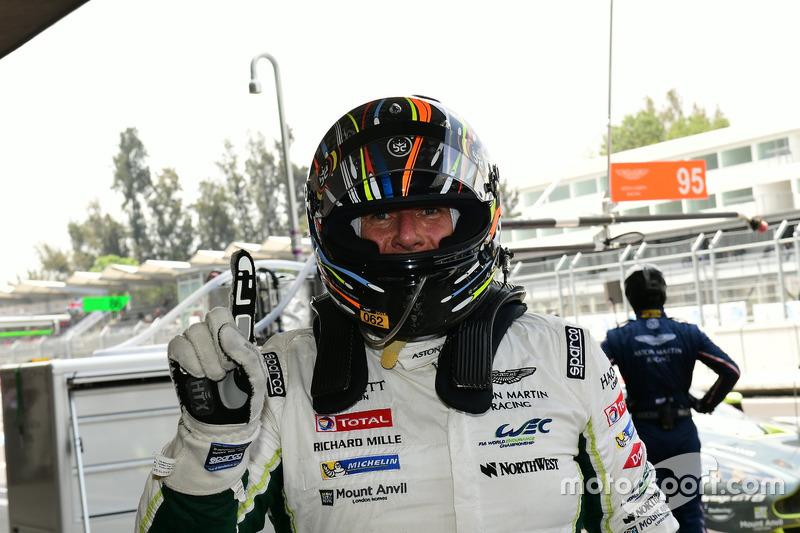 Polesitter LM GTE Am: #98 Aston Martin Racing, Aston Martin Vantage GTE: Paul Dalla Lana, Pedro Lamy, Mathias Lauda