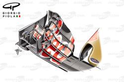 L'aileron avant de la Toro Rosso STR11, GP d'Allemagne