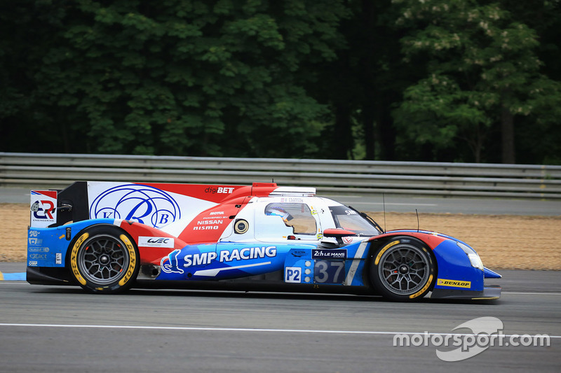 14. LMP2: #37 SMP Racing, BR01 Nissan