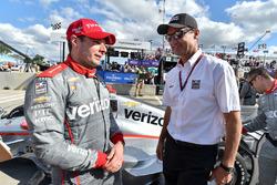 Ganador, Will Power, Team Penske Chevrolet, Tim Cindric