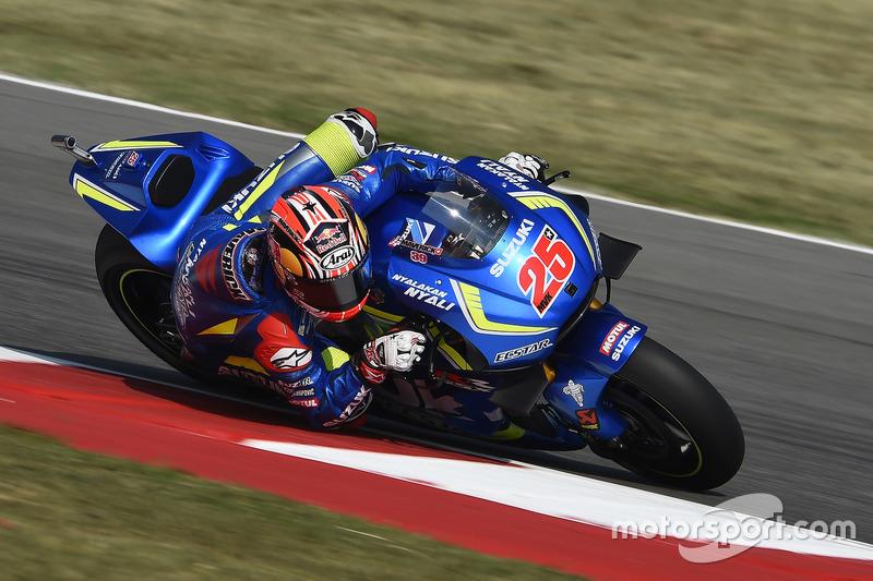 3. Maverick Vinales, Team Suzuki Ecstar MotoGP