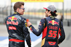 Даниил Квят, Red Bull Racing и Карлос Сайнс мл., Scuderia Toro Rosso