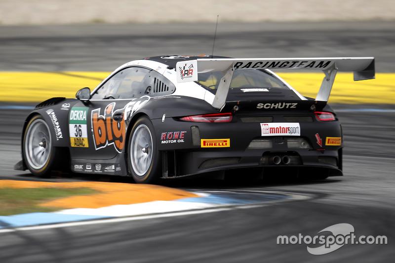 #36 bigFM Racing Team Schütz Motorsport, Porsche 911 GT3 R: Marvin Dienst, Christopher Zanella.