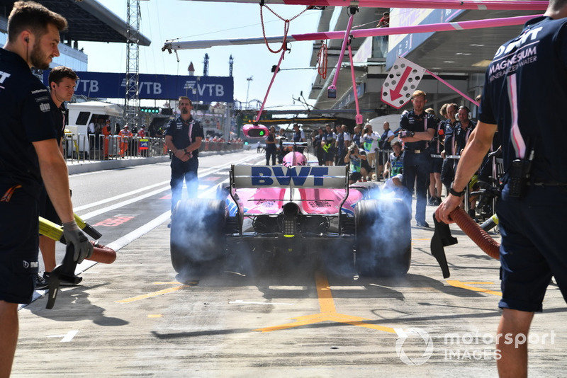 Серхио Перес, Racing Point Force India F1 VJM11