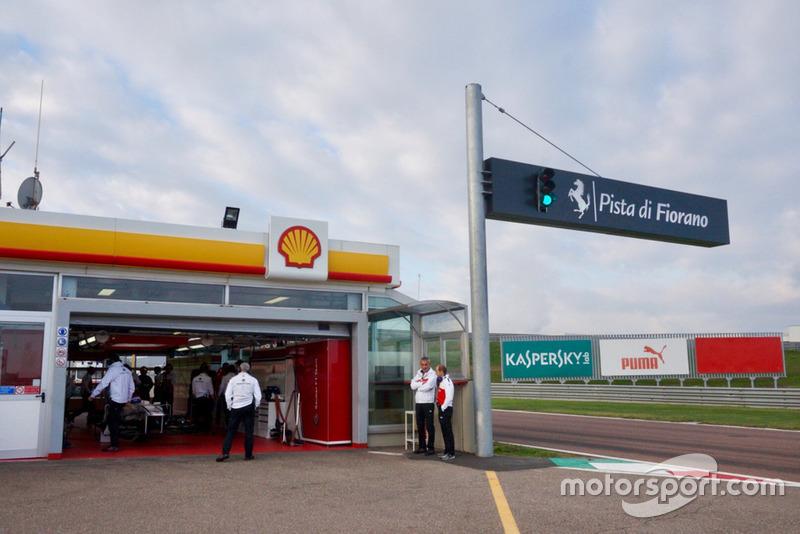 Prueba de Sauber de Fórmula 1