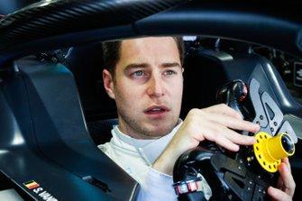 Stoffel Vandoorne, HWA Racelab en la cabina del piloto