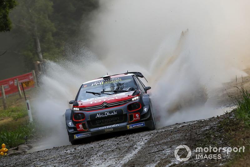 Craig Breen, Scott Martin, Citroën C3 WRC Citroën World Rally Team