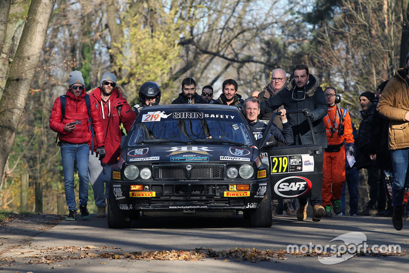 """Lucky"" et Fabrizia Pons (Lancia Delta)"
