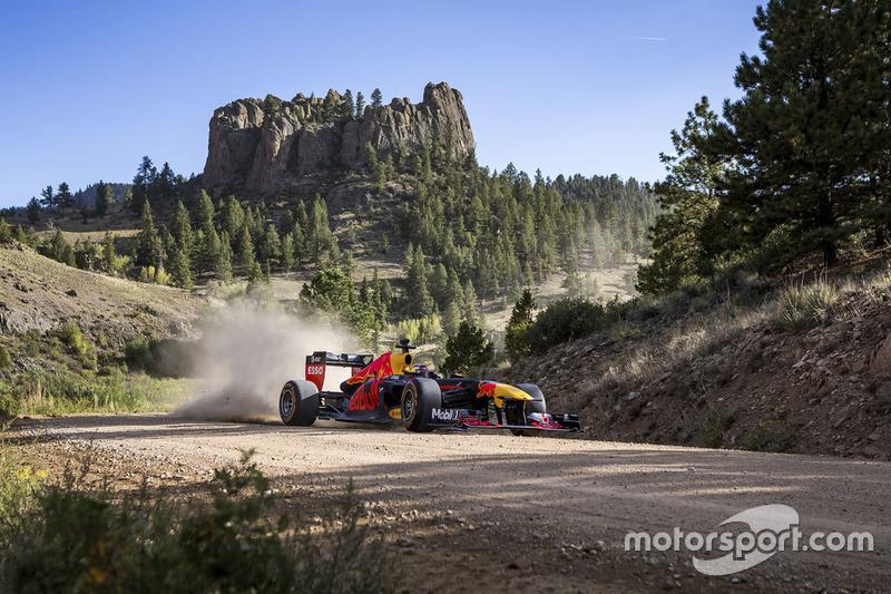 Макс Ферстаппен, Red Bull Racing, у Колорадо