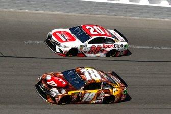 Kyle Busch, Joe Gibbs Racing, Toyota Camry M&M's Chocolate Bar, Erik Jones, Joe Gibbs Racing, Toyota Camry Sport Clips