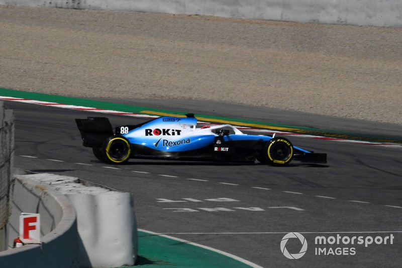 Разворот: Роберт Кубица, Williams FW42