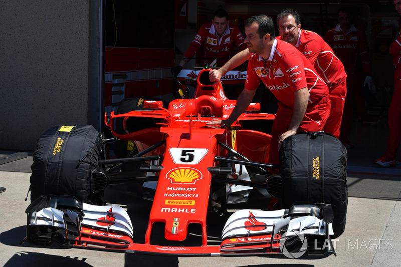Ferrari-Mechaniker, Ferrari SF70H