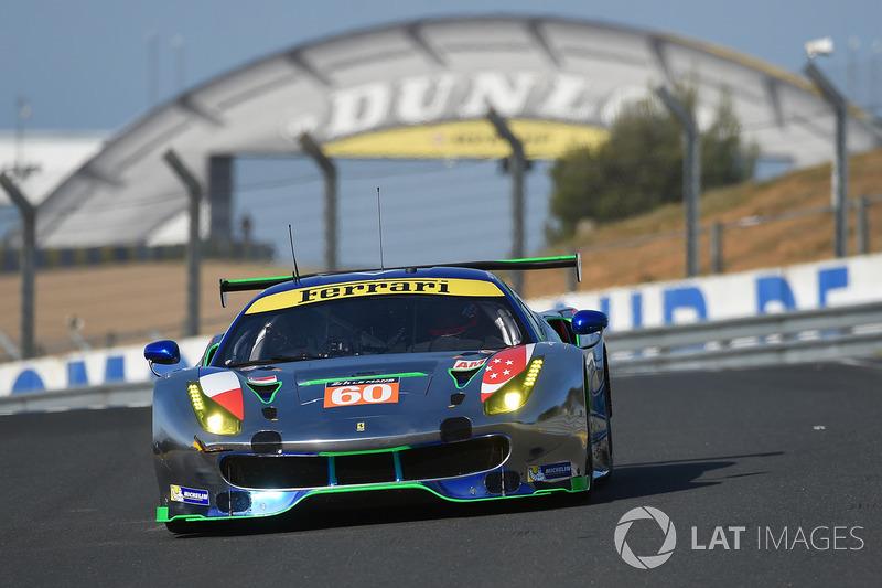 #60 Clearwater Racing, Ferrari 488 GTE: Richard Wee, Alvaro Parente, Hiroki Katoh