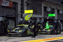 #97 Aston Martin Racing Aston Martin Vantage: Darren Turner, Jonathan Adam, Daniel Serra, #98 Aston Martin Racing Aston Martin Vantage: Paul Dalla Lana, Pedro Lamy, Mathias Lauda
