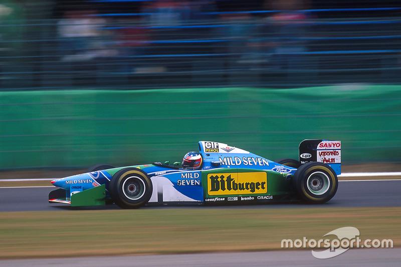 Suzuka 1994: Michael Schumacher, Benetton B194