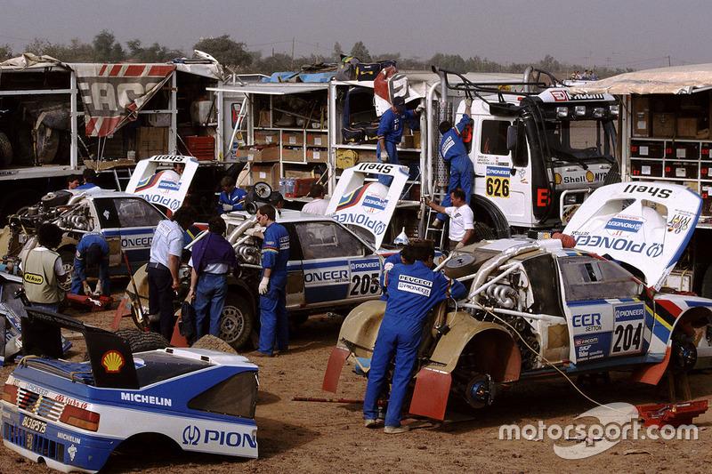 Peugeot team area