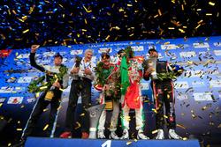 Podium: Race winner Podium: second place Tiago Monteiro, Honda Racing Team JAS, Honda Civic WTCC, Race winner Mehdi Bennani, Sébastien Loeb Racing, Citroën C-Elysée WTCC, third place Thed Björk, Polestar Cyan Racing, Volvo S60 Polestar TC1, second place Th