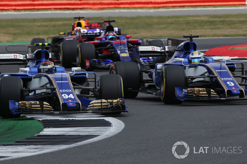 Паскаль Верляйн, Маркус Ерікссон, Sauber C36, Даніель Ріккардо, Red Bull Racing RB13