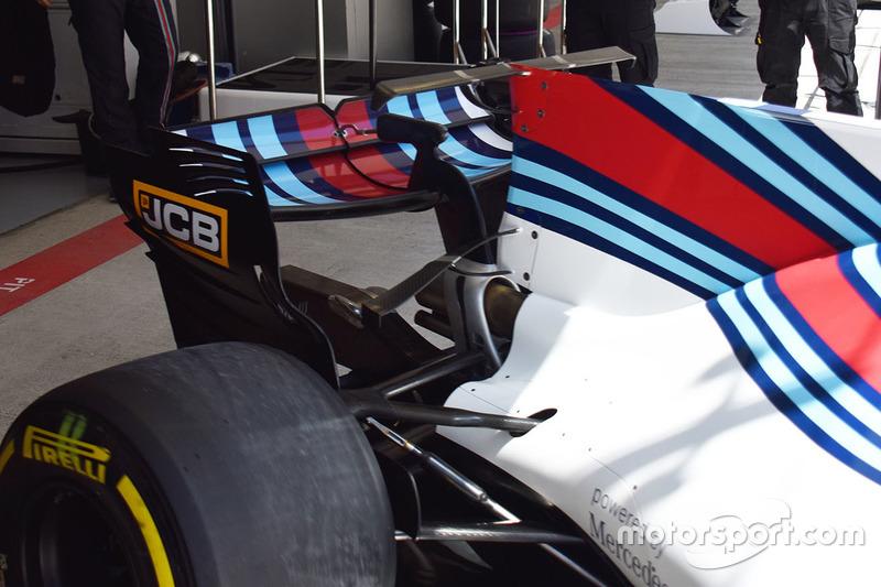 Williams FW40 rear detail