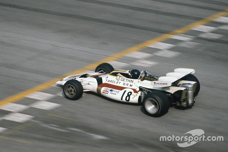 Peter Gethin (BRM) - GP Italia 1971