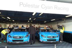 Thed Björk, Polestar Cyan Racing, Volvo S60 Polestar TC1 and Yvan Muller, Polestar Cyan Racing, Volvo S60 Polestar TC1