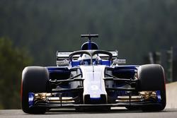 Marcus Ericsson, Sauber C36, with halo